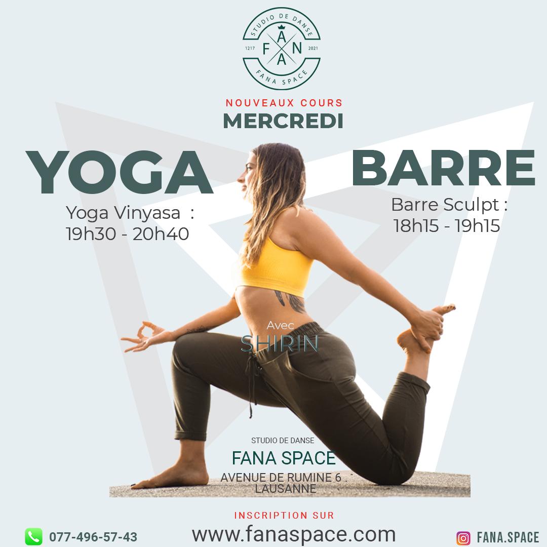 Yoga Vinyasa Barre Sculpt Shirin